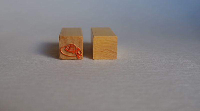 「麦わら帽子」印影 工房蓮